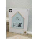 "Packaging décoration lumineuse bleu "" Home Sweet Home """