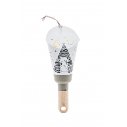 "Lampe Nomade ""Passe-Partout"" taupe Tipi"