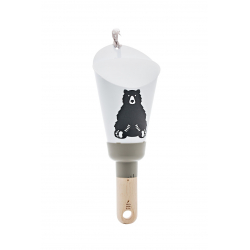"Lampe Nomade ""Passe-Partout"" taupe little hypster boys"